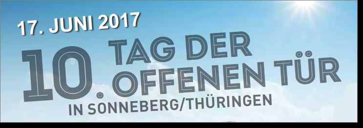 """Tag der offenen tür 2017  Piko Sonderangebote zum """"Tag der offenen Tür"""" in Sonneberg ..."""
